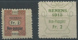 1438 - RENENS Fiskalmarken
