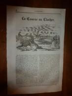 1836 LM :La Course Au Clocher;Château De LAXEMBOURG;Emp.Maximilien;Courage D'une Irlandaise;Poisson KRAKEN;Grand TETRAS - Vieux Papiers