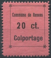1439 - RENENS Fiskalmarke