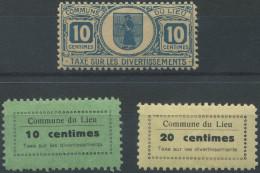 1440 - LIEU Fiskalmarke - Steuermarken