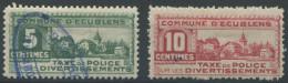 1441 - ECUBLENS Fiskalmarken