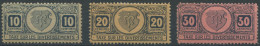 1443 - MOUDON Fiskalmarken - Steuermarken