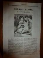 1836 LM :Raphaël Sanzio;Palais-Royal;Moeurs Russes XVIIIe;Le Cheval De Kosciusko,Soleure;Diner François 1er à Harfleur - Vieux Papiers