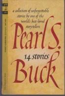 Roman Anglais:     14 STORIES.   Pearls  BUCK.    1963. - Romans