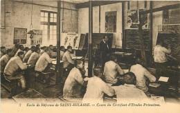 ECOLE DE REFORME DE SAINT HILAIRE - Cours Du Certificat D'étude Primaire. - Sin Clasificación