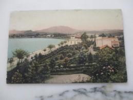 CPA GRECE CORFOU LE CASINO ET BOULEVARD ELISABETHE - Greece