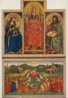 JAN Van EYCK : De Aanbidding Van Het Lam Gods / La Retable De L'Agneau Mystique. - Peintures & Tableaux