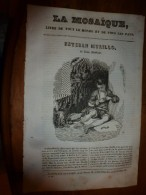 1836 LM :Esteban Murillo (Le Jeune Mendiant); Comète De Halley; Le Roucouyer; Abbaye De St-Claude; Charles Le Simple - Vieux Papiers