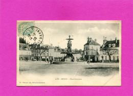 MELUN    1910   PLACE  SAINT JEAN   CIRC OUI  EDIT - Melun