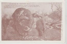 CPM VIRONVAY (Eure) - Carte Publicitaire Relais De Vironvay R.N 13 Bis Propriétaire Christian HUET - France