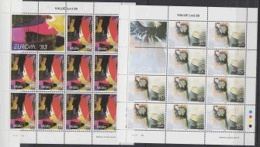 Europa Cept 1993 Malta 2v 2 Sheetlets ** Mnh (F5162) ROCK BOTTOM PRICE - Europa-CEPT