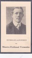1880 1933 Maurice Ferdinand Vermeulen Lokeren Doodsprentje Bidprentje Image Mortuaire - Images Religieuses