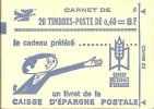 """CARNET 1536B-C 2 Marianne De Cheffer """"CAISSE D´EPARGNE POSTALE"""" Conf. 4 Fermé. SUPERBE à Saisir. - Carnets"""