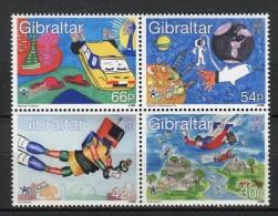 Gibraltar 2000. Yvert 902-05 ** MNH. - Gibilterra