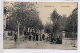17 - CHATELAILLON - La Rue Carnot - Châtelaillon-Plage