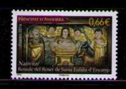 ANDORRA FRANCESA 2014 - NAVIDAD - NOEL - CHRISTMAS  - 1 SELLO - French Andorra