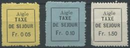 1445 - AIGLE Fiskalmarken - Fiscaux