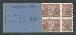 SUEDE 1961 - CARNET  YT C482 - Facit H140 - Neuf ** MNH - 250è Anniversaire De La Naissance De Carl Gustaf Pilo - Carnets