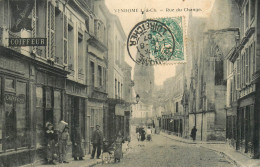 Vendome - 1907 - Rue Du Change - Coiffeur BOIFARD - Commerce Magasin MASSOT - Belle Animation - Vendome
