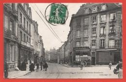 CPA Caen - Rue Caponière Prise De La Place Des Petites Boucheries - Caen
