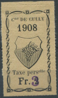 1454 - CULLY Fiskalmarke - Steuermarken
