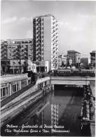Milano Grattacielo Di Porta Nuova, Tram E Timbro Fiera 1953 - Milano