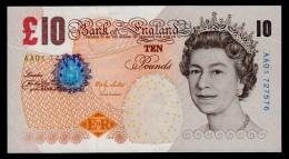 Great Britain 10 Pounds 2000 P.389a UNC - 1952-… : Elizabeth II