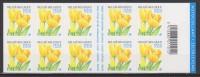 "Belgique N° B 42 *** Fleurs : Tulipe Jaune ""Darwin - Golden Apeldoorn"" Avec Logo ""La Poste"" ""Europa/e"" Et ""Prior"" - 2003 - Booklets 1953-...."