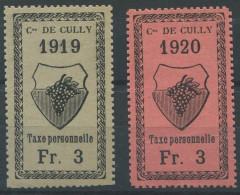1459 - CULLY Fiskalmarken