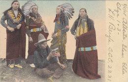 Amérique - Indiens - Costumes Chef Indien - 1905 - Indiens De L'Amerique Du Nord