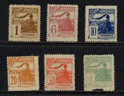 Honduras Y&T 84/91 * Sauf 85 Et 86 - Honduras