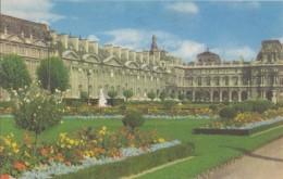 FRANCE : PARIS «Le Louvre «- Carte Pelletier. - Louvre