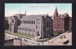 AUS1-37 ST. PAUL'S CATHEDRAL MELBURNE - Melbourne