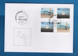 2004- Francobolli  Ordinari -  MILANOFIL 2004-  19-21 Marzo  2004 .  Vedi Descrizione. - Svizzera
