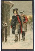 Relief - Gaufrée - Embossed - Prage - Militaires Grognards De Napoléon - TBE - Fantasia