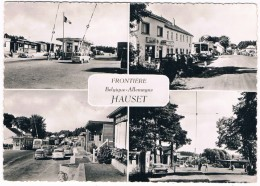 B5853      HAUSET : Frontiere Belgique-Allemagne ( With SHELL-Tankstelle, Gasstation)