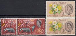 Gran Bretaña 1963 Nº373/74 Nuevo - 1952-.... (Elizabeth II)