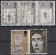 Gran Bretaña 1969 Nº 569/73 Nuevo - 1952-.... (Elizabeth II)