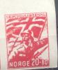 NORGE NORVEGE NORUEGA YVERT NR. 212 MNH NON DENTELE??? TBE RARR MINT NOT HINGED - Unused Stamps