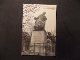 8261 Bourg La Reine Statue D André Theuriet EM - Altri Comuni
