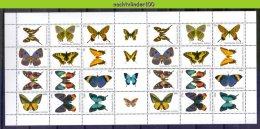 Mrh1427Vc FAUNA VLINDERS BUTTERFLIES SCHMETTERLINGE MARIPOSAS PAPILLONS NEDERLANDSE ANTILLEN 2003 PF/MNH - Vlinders