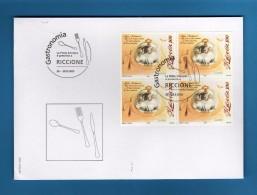 2005- Francobollo Speciale- GASTRONOMIA - RICCIONE  2005- 26-28.8- 2005 .  Vedi Descrizione. - Svizzera