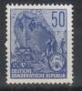 DDR,Five-Year Plan 50Pf 1955.,MNH - [6] République Démocratique