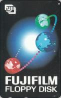Japan Phonecard  Globe Weltraum - Raumfahrt