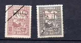 RUMANIA .  AÑO 1917.  KRIEGSTEUENMARKEN Mi 1/2  (MH/USED) - Ocupación 1914 – 18