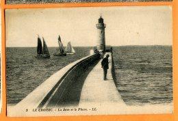 LOL543, Le Croisic, La Jetée Et Le Phare, 3, Animée, Non Circulée - Le Croisic