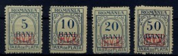 RUMANIA .  AÑO 1918.  PORTOMARKEN Mi 1/6 (MH) - Besetzungen 1914-18