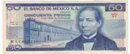 Mexico #67b, 1959 5 Pesos Banknote Currency - Mexico