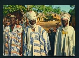 NIGERIA  -  Nupe People  Unused Postcard - Nigeria