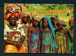 NIGERIA  -  Nupe Women  Unused Postcard - Nigeria